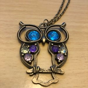 Owl Necklace *New*
